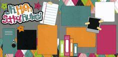 Jr. High School Rules! Girl Page Kit