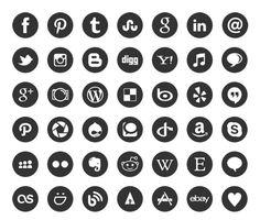social media icons png - Google'da Ara