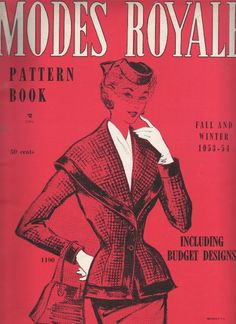 The Modes Royale pattern catalogues will be coming to an end by the end of January. I hope you've enjoyed the stroll through the patterns o...