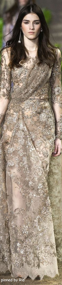 Elie Saab Spring 2016 Couture Fashion Show Couture Fashion, Runway Fashion, Fashion Show, Fashion Design, Elie Saab Spring, Elie Saab Couture, Spring Couture, Couture Collection, Couture Dresses
