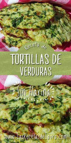 Tortillas without flour - Laura& recipes saludables sin verduras recetas faciles Veggie Recipes, Vegetarian Recipes, Vegetarian Lunch, Tortas Low Carb, Healthy Cooking, Cooking Recipes, Flour Recipes, Healthy Meals, Healthy Tortilla