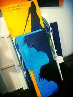 Paint rocking