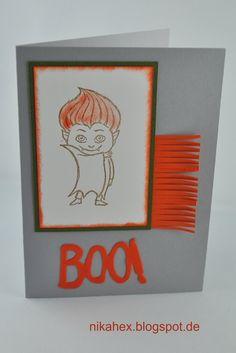 Nikas Hexerei Stampin Up! Halloweenkarte mit Vampir