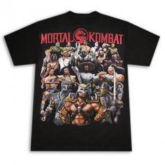 Mortal Kombat Video Game Shirt