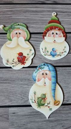 bastelideen weihnachten New ideas craft wood project Painted Christmas Ornaments, Santa Ornaments, Diy Christmas Tree, Christmas Door, Blue Christmas, Christmas Balls, Christmas Projects, Christmas Decorations, Christmas Snowman
