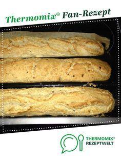Zwiebel-Baguette **easy** von maxblue1966. Ein Thermomix ® Rezept aus der Kategorie Brot & Brötchen auf www.rezeptwelt.de, der Thermomix ® Community.