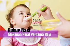 Bubur Nasi – Makanan Pejal Pertama Bayi | http://www.wom.my/saji/bubur-nasi-bayi/