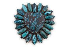 Native American Heart Belt Buckle