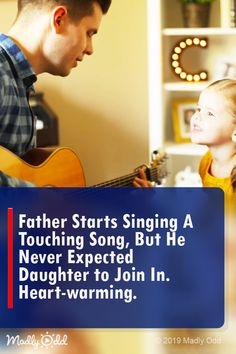 Father starts singing a touching song, but he never expected daughter to join in. Music Songs, Music Videos, Best Songs, Awesome Songs, Amazing Music, Cute Baby Videos, Country Music Singers, Talent Show, Always Learning