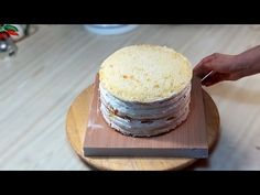 """Торт """"Молочная девочка"""". Рецепт / """"Milchmadchen"""" - Я - ТОРТодел! - YouTube Cake Videos, Bakery Cakes, What To Cook, Vanilla Cake, Deserts, Food And Drink, Sweets, Cheese, Baking"""