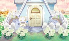 This is a adorable outside of a house and the carnations make it so better I would love to do this for my town !