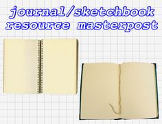 """trumermaid: """" hi!! ok so one of my goals for the new year is to work more in journals and sketchbooks. so recently i've been searching for resources to help me. i figured some other people might want..."""