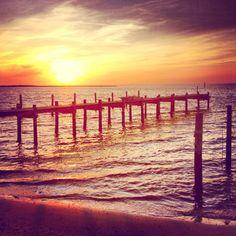 """""""I think I need a sunrise  I'm tired of the sunset"""""""