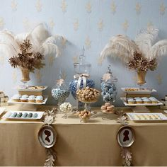 French Dessert Table