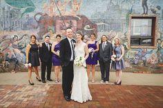 wedding party - Rachael Schirano Photography - Contemporary Arts Center Wedding