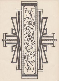 Art deco design. Found on decornow.net