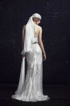 Johanna Johnson - same dress, but I love this back!