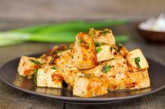 tofu with roasted chili paste