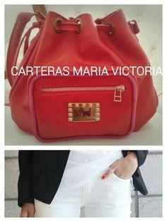 Cartera Victoria. Material: Cuero Vacuno. Fan Page: Carteras Maria Victoria