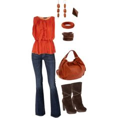 """""""earth tones"""" by michlee on Polyvore"""