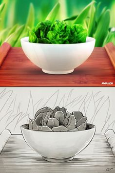 Bowl of Salad. by Dash