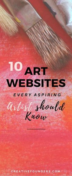 Artist Marketing Resource // ArtMaze Mag // Carve Out Time for Art // The Jealous Curator // The Artist Market Co. // Creative Boom // Maria Brophy // The Art Biz Blog // Artsy Shark // The Abundant Artist // Creative Founders // Creativefounders.com #art #artbiz #sellartonline #artwebsites #sellart