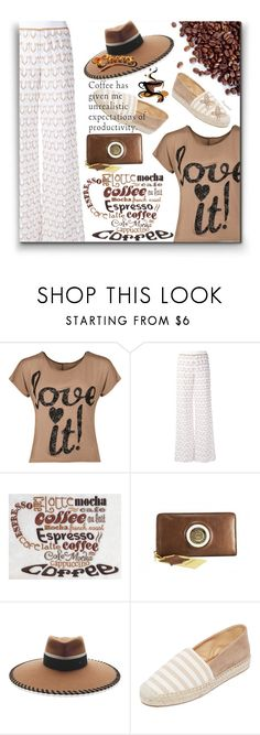 """""""Coffee Break!"""" by ragnh-mjos ❤ liked on Polyvore featuring WearAll, Missoni, Maison Michel, Matt Bernson, Candela, contest, outfit, fashon and coffeebreak"""