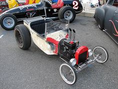 Possibly the coolest go kart ever by Vintage Roadside, via Flickr
