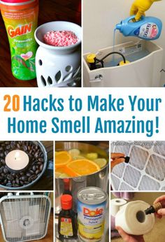 20 Creative Hacks To Make Your House Smell Amazing - Diy household tips