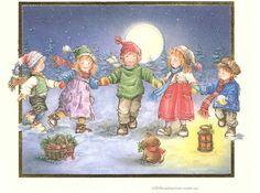 niños en navidad Lisi Martin