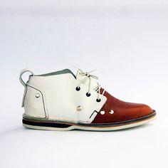 Buty ręcznie szyte SHOEMAKER mod.Savannah /unisex/ - SHOEMAKER_ - Buty