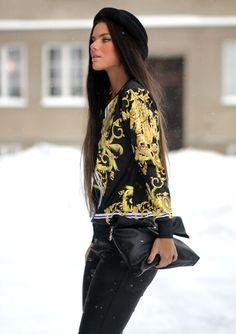#frida grahn, #street style, #stylish