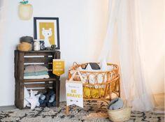 chambre bébé nordique