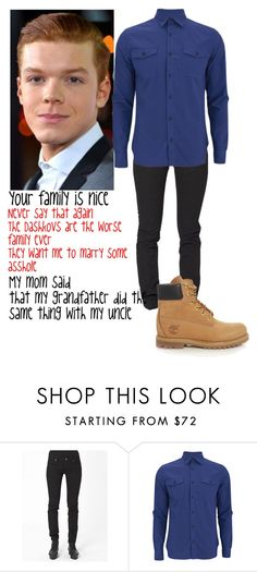 """""""Nate Grace"""" by trislessa ❤ liked on Polyvore featuring Cheap Monday, Hardy Amies and Timberland"""