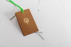 """Austrian design studio Bureau Rabensteiner created this sophisticated identity for Tischlerei Gebrüder Falgschlunger – an """"ambitious carpenter"""" based near Innsbruck, Austria."""
