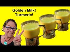 Traditionally, golden milk / turmeric milk has been used for colds, congestion, headache, and sore throats. Turmeric is a depression-fighter as well. Adding more to our diets is one great brain building strategy.