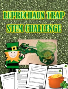 Here is a fun activity for St. Patrick's Day:The ChallengeA Leprechaun has gotten loose and is stealing all the shiny things he can get his hands on.  His favorite thing though is gold!  He has been seen in the neighborhood stealing jewelry and gold rings and even snuck into the school last night looking for the principals gold watch!