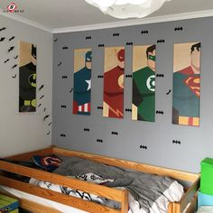 Cheap picture for living room, Buy Quality wall pictures directly from China modular pictures Suppliers: Oil Painting Canvas Super Hero Batman Cartoon Modular Pictures on The Wall Home Decoration Modern Wall Pictures for Living Room