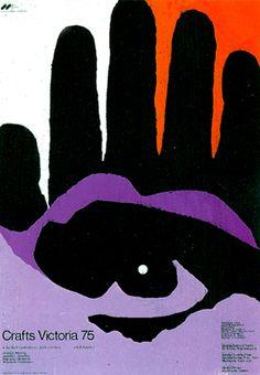 Crafts Victoria Poster / Heinz Grunwald / 1975