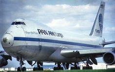 Pan Am Cargo B747 freighter