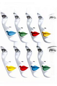 Bright Lip Trends for Fall Beauty - Alexandra Parnass Tries Bright Jewel-Tone Lipstick - Harper's BAZAAR Magazine