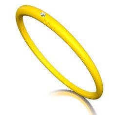 Classic Collection - Bangles  Yellow  #bangles #duepunti #jewels #diamond www.duepuntimilano.com
