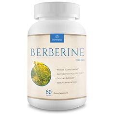 Premium Berberine Supplement -1,200 mg Per Serving - Berberine HCL Extract Helps Support Healthy Blood Sugar Levels, Digestion
