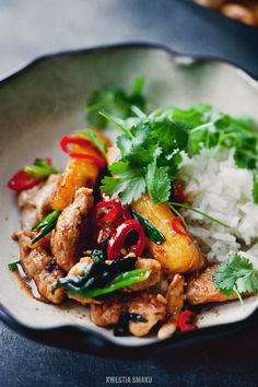 Chicken, Pineapple and Ginger Stir-Fry