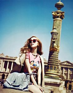 Girls ' Generation Jessica Vogue Girl Korea 2013 Paris