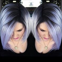 25 Color For Short Hair - Hair Styles 2019 Lilac Hair, Pastel Hair, Silver Purple Hair, Silver Lavender Hair, Silver Color, Color Blue, Magenta Hair Colors, Light Purple Hair, Purple Wig