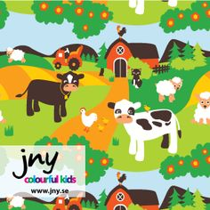 Jny Design Farmhouse Trikoo - Lasten Taikamaa