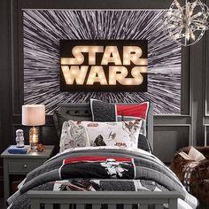 Star wars themed kids room kids room design star wars home decor Decoration Star Wars, Star Wars Room Decor, Star Wars Bedroom, Bedroom Themes, Kids Bedroom, Bedroom Decor, Bedroom Ideas, Room Kids, Dream Bedroom