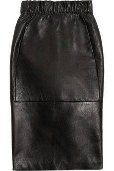 Neil Barrett Nappa leather pencil skirt | NET-A-PORTER