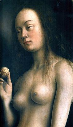 Eve (detail), Jan van Eyck,  1432
